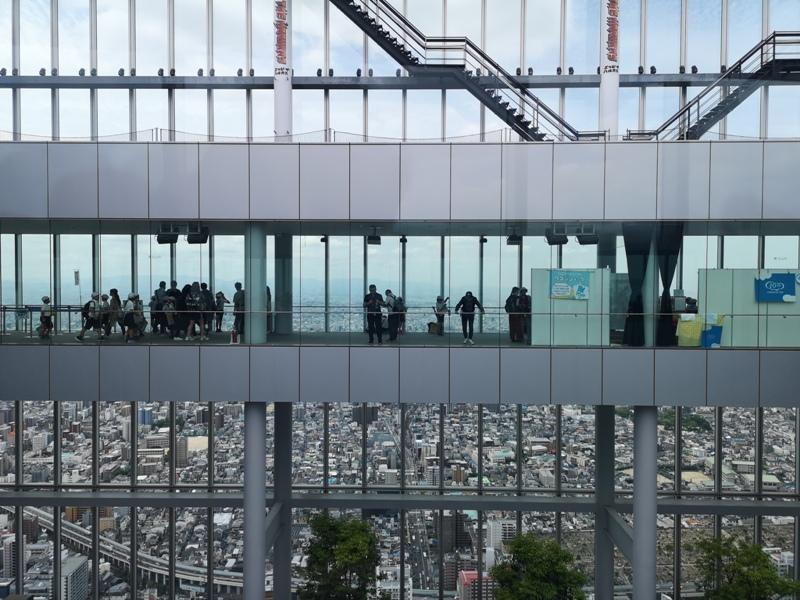 abenoharukas0101 Tennoji-阿倍野Harukas 300展望台 日本最高樓的大阪景觀
