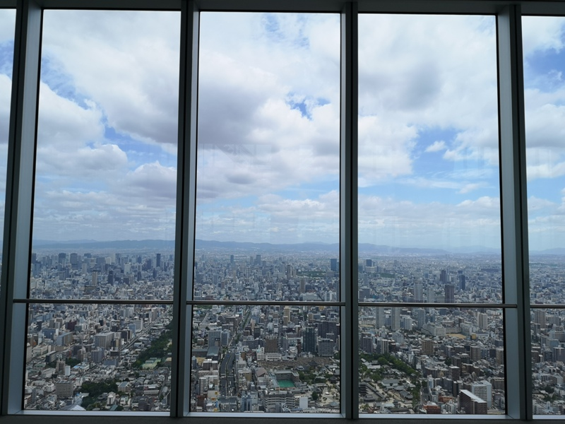 abenoharukas0115 Tennoji-阿倍野Harukas 300展望台 日本最高樓的大阪景觀