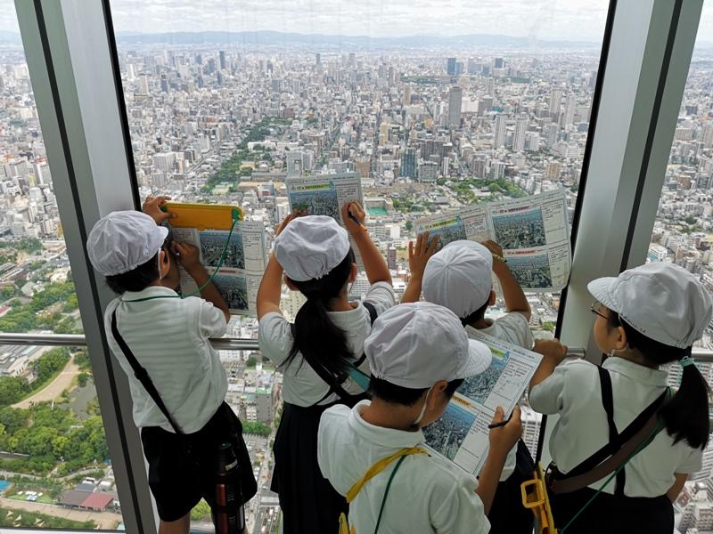 abenoharukas0117 Tennoji-阿倍野Harukas 300展望台 日本最高樓的大阪景觀
