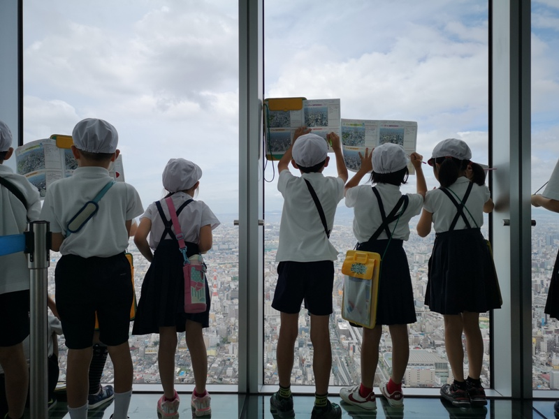 abenoharukas0120 Tennoji-阿倍野Harukas 300展望台 日本最高樓的大阪景觀