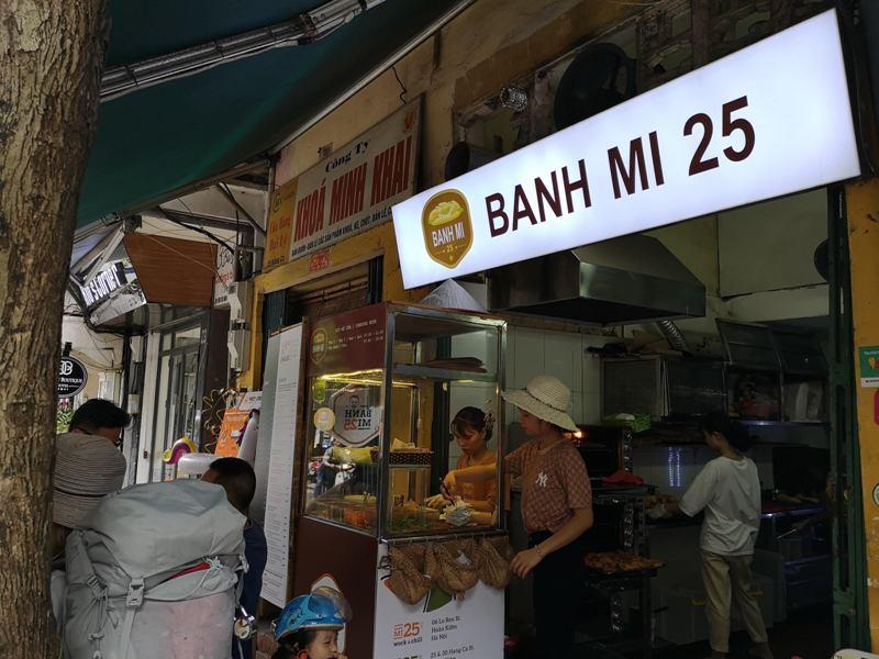 banhmi2505 Hanoi-Banh Mi 25河內名店 必吃越式三明治