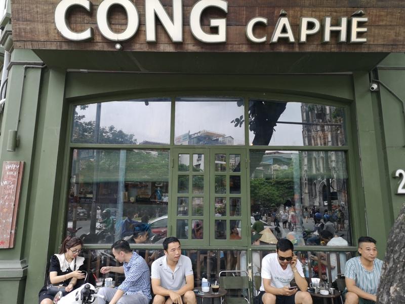 congcaphee01 Hanoi-河內Cong Caphe復古網紅店 越共咖啡