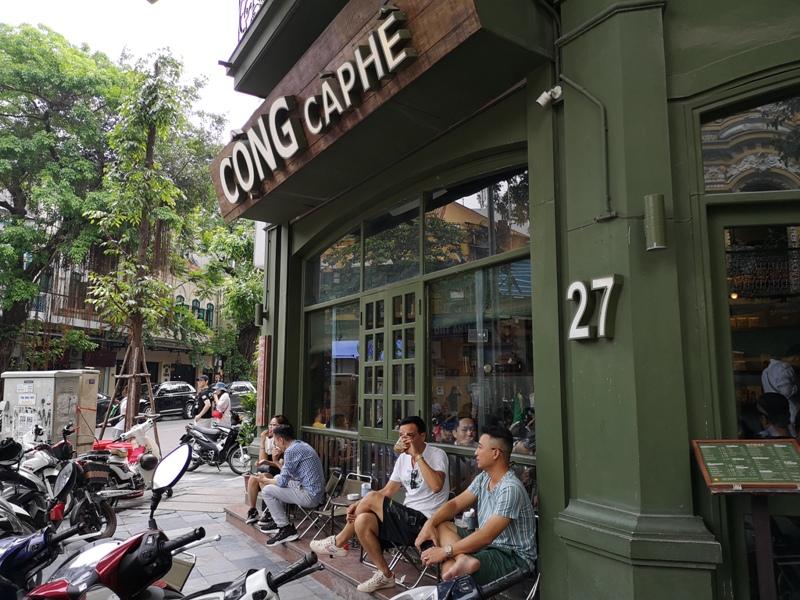 congcaphee03 Hanoi-河內Cong Caphe復古網紅店 越共咖啡