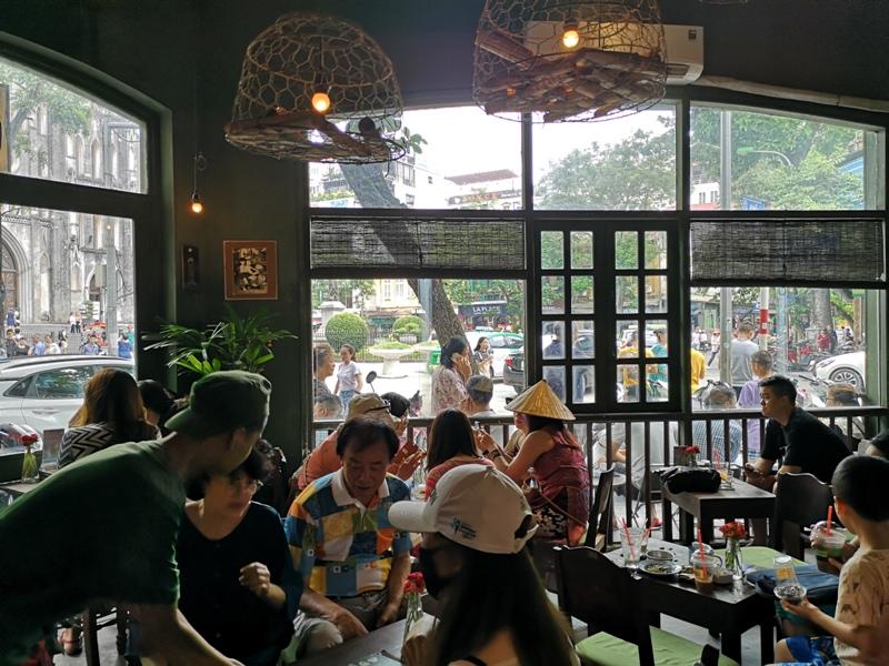 congcaphee04 Hanoi-河內Cong Caphe復古網紅店 越共咖啡