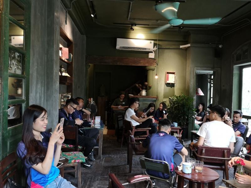 congcaphee06 Hanoi-河內Cong Caphe復古網紅店 越共咖啡