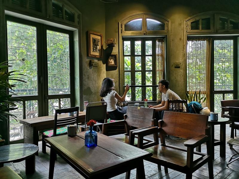congcaphee08 Hanoi-河內Cong Caphe復古網紅店 越共咖啡