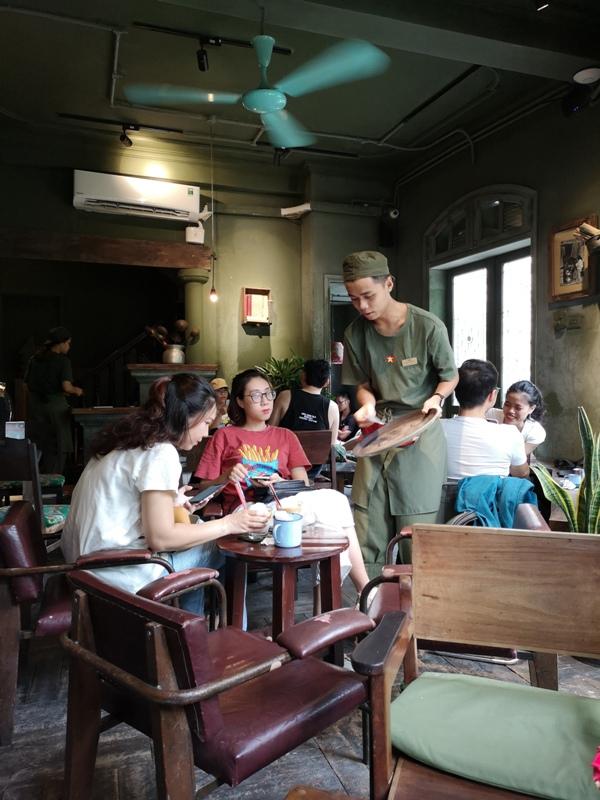 congcaphee10 Hanoi-河內Cong Caphe復古網紅店 越共咖啡