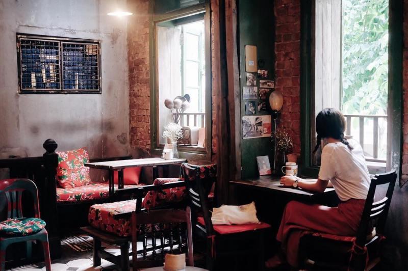 congcaphee15 Hanoi-河內Cong Caphe復古網紅店 越共咖啡
