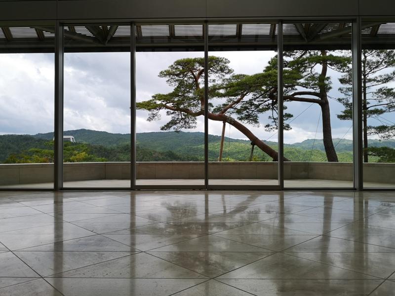 mihomuseum14 Shiga-滋賀Miho Museum美秀美術館 貝聿銘的桃花園 內外皆美的美術館