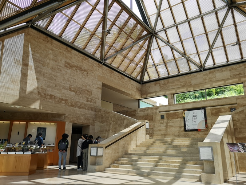 mihomuseum24 Shiga-滋賀Miho Museum美秀美術館 貝聿銘的桃花園 內外皆美的美術館