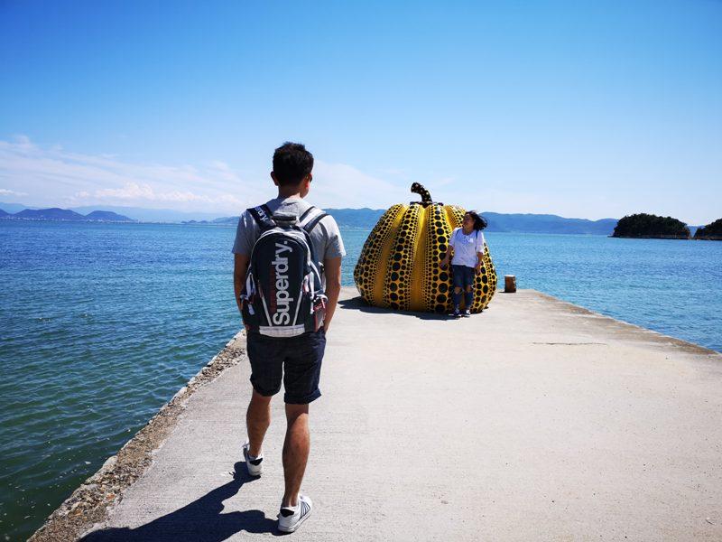 pumpkin11 Naoshima-黃南瓜紅南瓜 草間彌生的點點世界 快來直島找南瓜