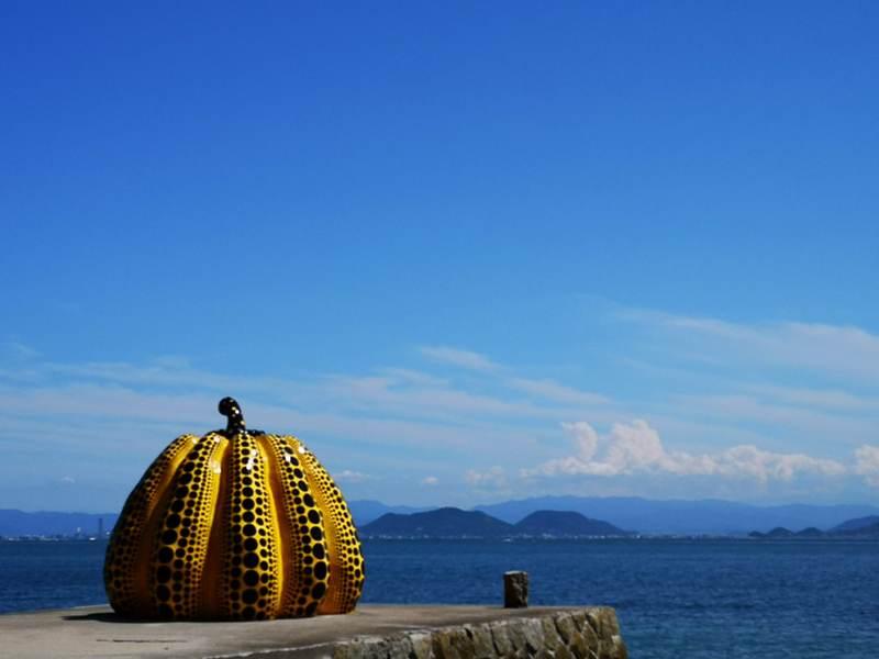 pumpkin12 Naoshima-黃南瓜紅南瓜 草間彌生的點點世界 快來直島找南瓜