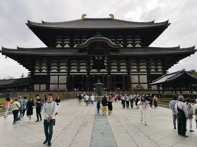 todaiji01 Nara-奈良小旅遊 世界文化遺產 東大寺&春日大社 搶食仙貝的小鹿亂撞