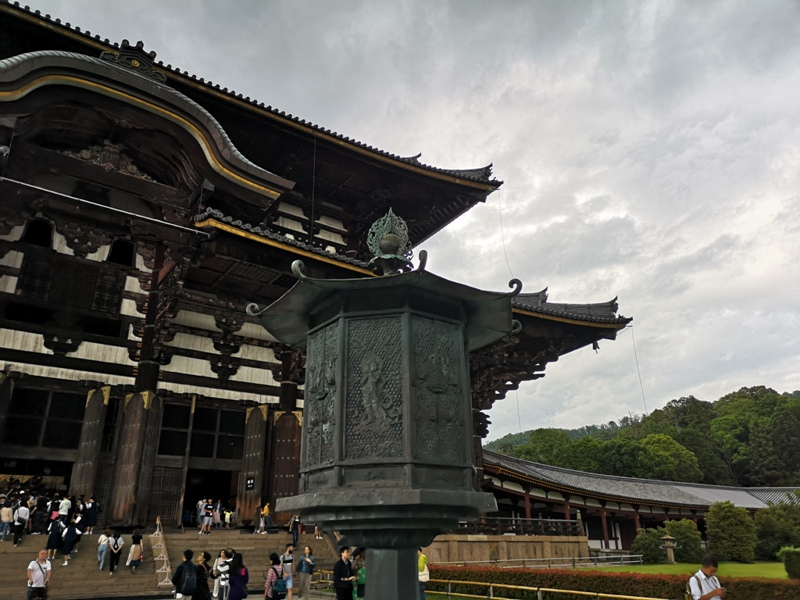 todaiji06 Nara-奈良小旅遊 世界文化遺產 東大寺&春日大社 搶食仙貝的小鹿亂撞