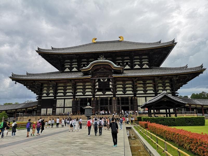 todaiji22 Nara-奈良小旅遊 世界文化遺產 東大寺&春日大社 搶食仙貝的小鹿亂撞