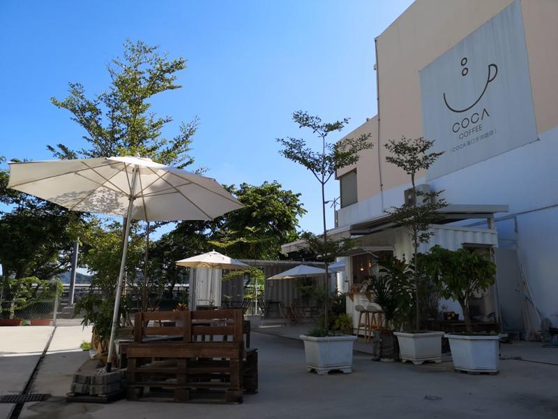 cocacoffee07 竹北-Coca Coffee超網美夢幻手沖咖啡吧...貨櫃屋概念的熱...