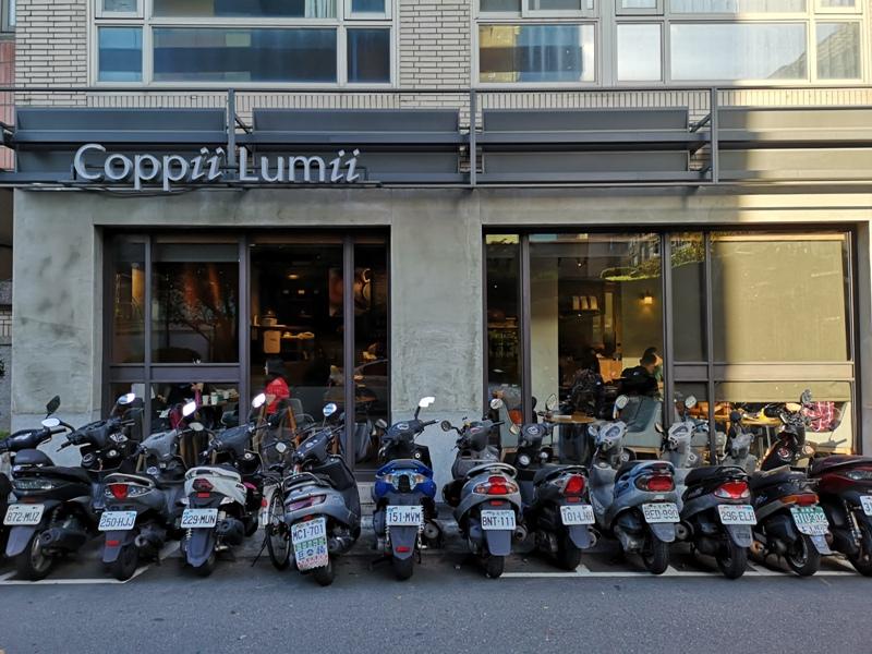 coppii1 中山-Coppii Lumii living coffee 冉冉生活 肉桂捲/厚鬆餅...好好吃的甜點下午