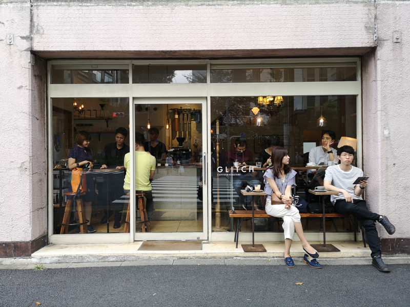 glitch01 Kanda-Glitch Coffee & Roasters神保町書店街 一杯咖啡配本書