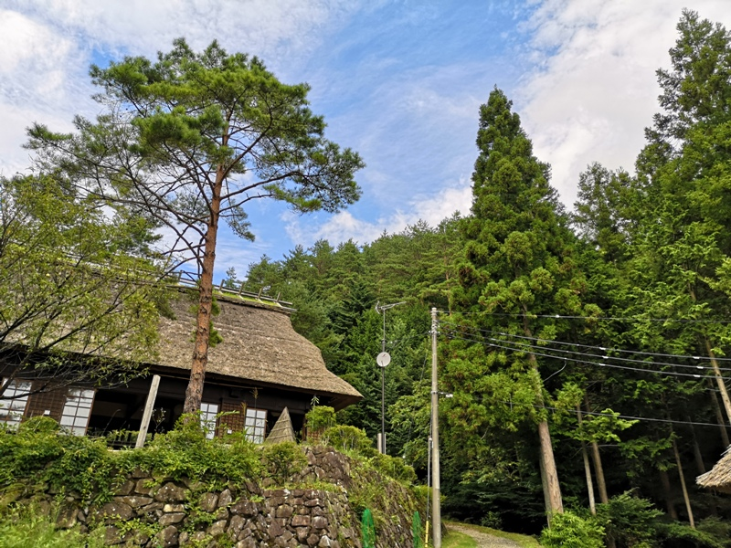 lyashinosatoo15 Seiko-西湖いやしの里根場 富士山下的合掌村