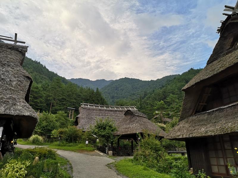 lyashinosatoo21 Seiko-西湖いやしの里根場 富士山下的合掌村