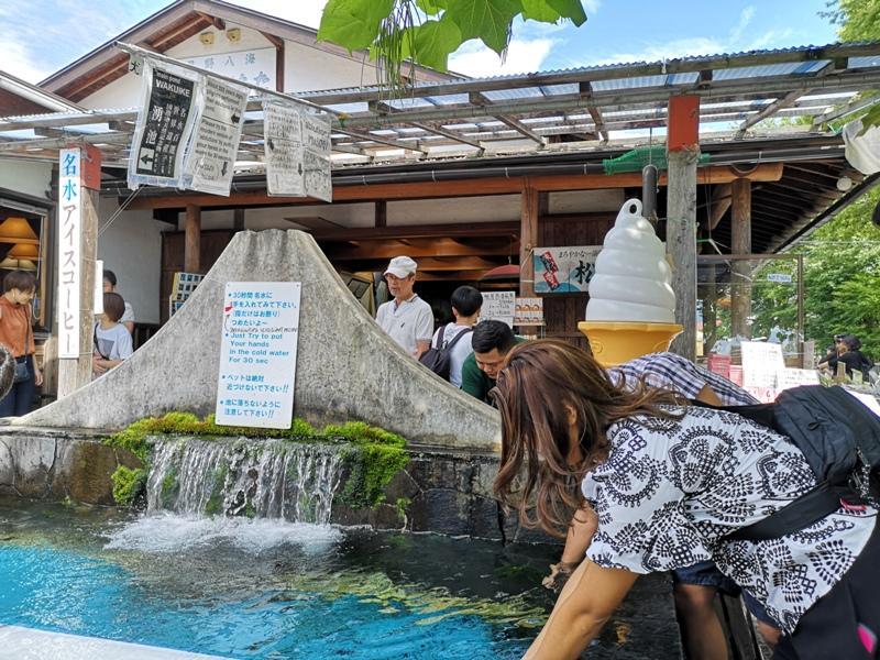 oshinohakkai14 Nakayamako-忍野八海 富士山旁湧泉小村落 看水玩水賞富士
