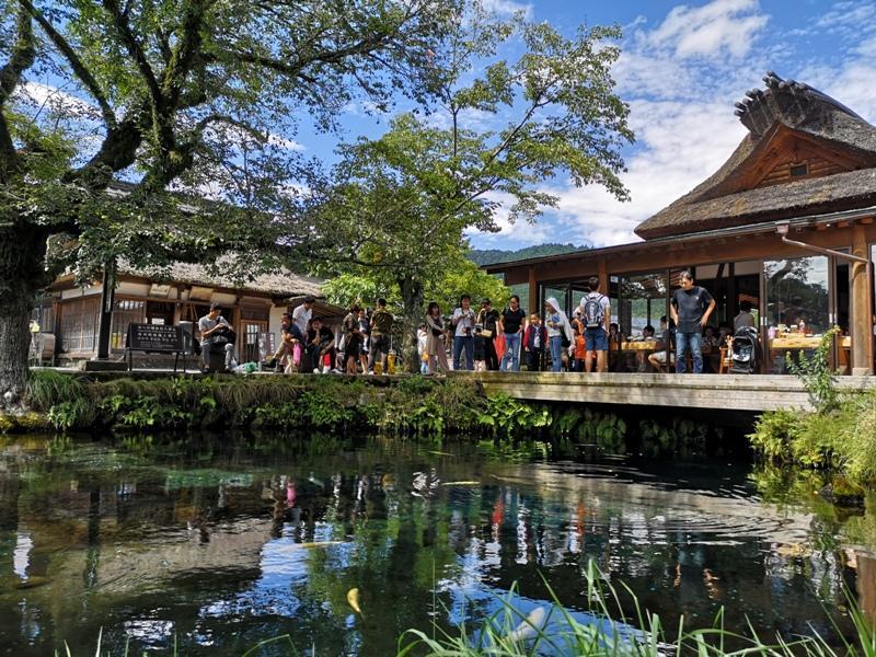 oshinohakkai15 Nakayamako-忍野八海 富士山旁湧泉小村落 看水玩水賞富士