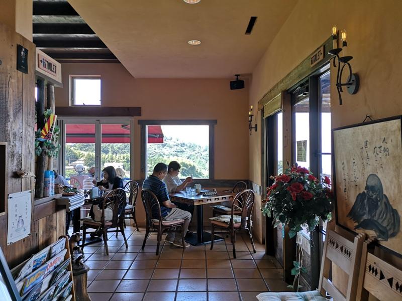 paradisecafe04 Odawara-Paradise Cafe Saddle Back藍天綠樹海景紅瓦屋 江之浦的景觀咖啡