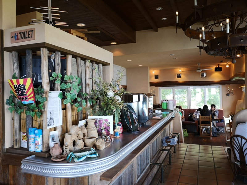 paradisecafe07 Odawara-Paradise Cafe Saddle Back藍天綠樹海景紅瓦屋 江之浦的景觀咖啡