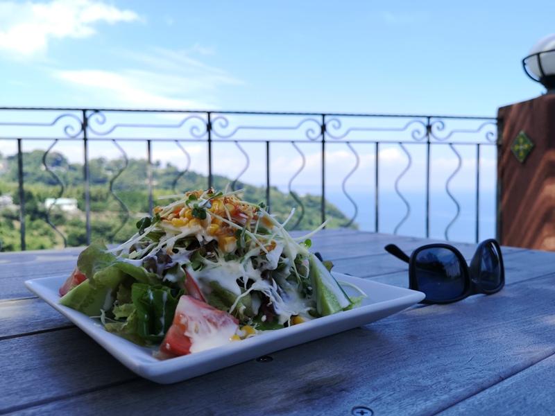 paradisecafe14 Odawara-Paradise Cafe Saddle Back藍天綠樹海景紅瓦屋 江之浦的景觀咖啡