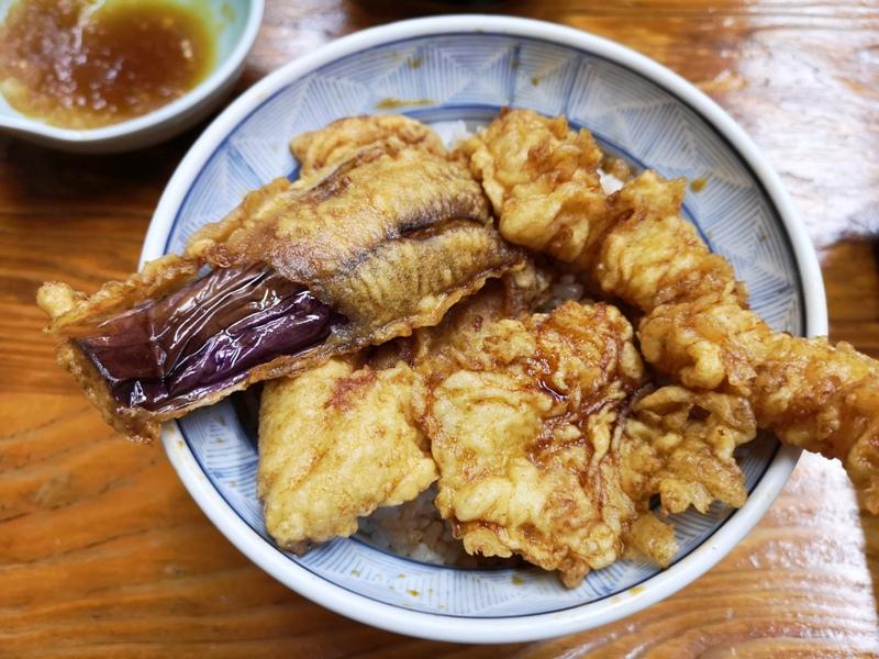 sansada13 Asakusa-淺草寺雷門旁 感受老日本氛圍的百年老店 三定 天婦羅/天丼