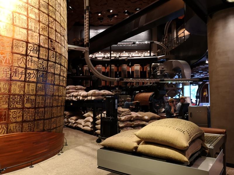 starbucksSH05 Shanghai-上海臻選咖啡烘焙工坊 咖啡製作流程大公開