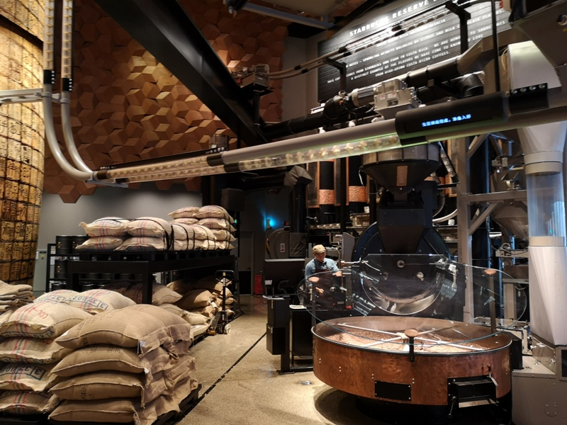 starbucksSH06 Shanghai-上海臻選咖啡烘焙工坊 咖啡製作流程大公開