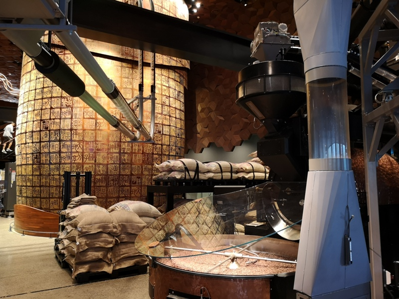 starbucksSH07 Shanghai-上海臻選咖啡烘焙工坊 咖啡製作流程大公開