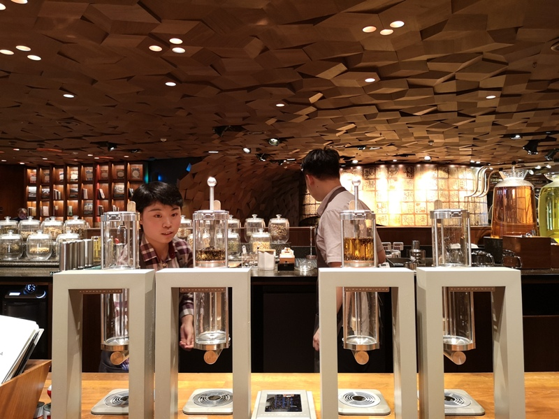 starbucksSH22 Shanghai-上海臻選咖啡烘焙工坊 咖啡製作流程大公開