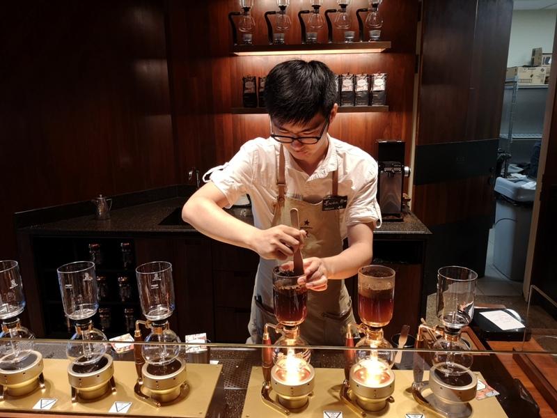 starbucksSH27 Shanghai-上海臻選咖啡烘焙工坊 咖啡製作流程大公開