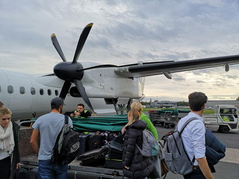 Dustpeeee09 201910 全日空取消漢莎救援 薩爾斯堡轉轉轉回台北 一日四趟創紀錄