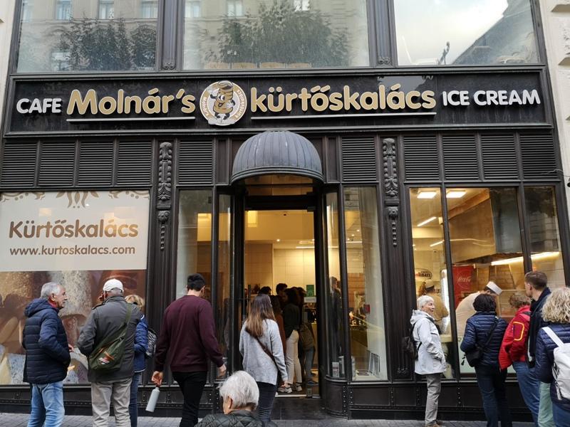Molnar01 Budapest-布達佩斯煙囪卷Molnar's kurtoskalacs東歐品嚐在地甜點 啊!就麵包..哈