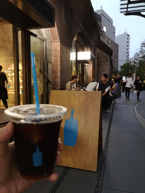 bluebottlemansei110108 Kanda-Blue Bottle 神田萬世橋店 喝咖啡感受電車轟隆轟隆的臨場感