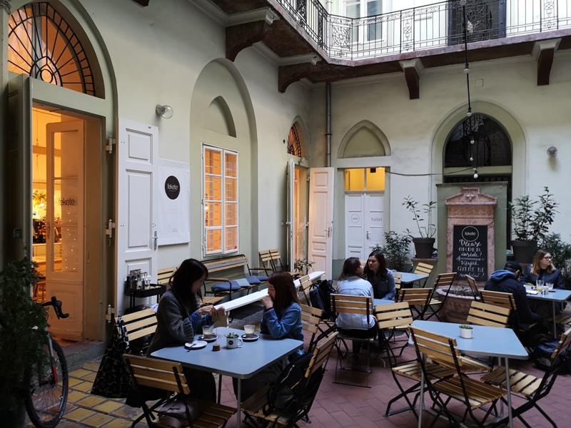 fekete04 Budapest-Fekete布達佩斯傳統住宅中來一份簡單舒適的早餐