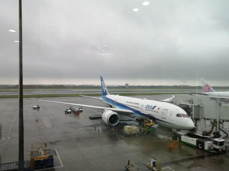 flyvie01 201909台北維也納 ANA787-9夢幻客機商務艙初體驗