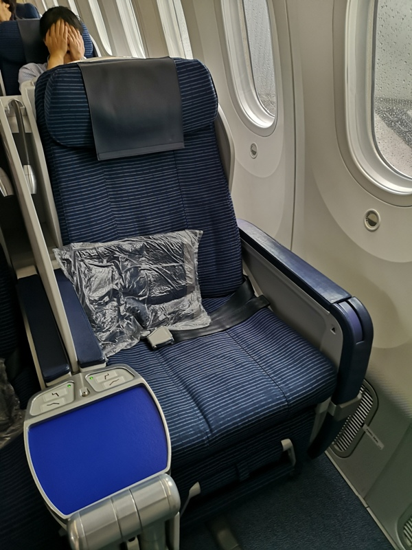 flyvie08 201909台北維也納 ANA787-9夢幻客機商務艙初體驗