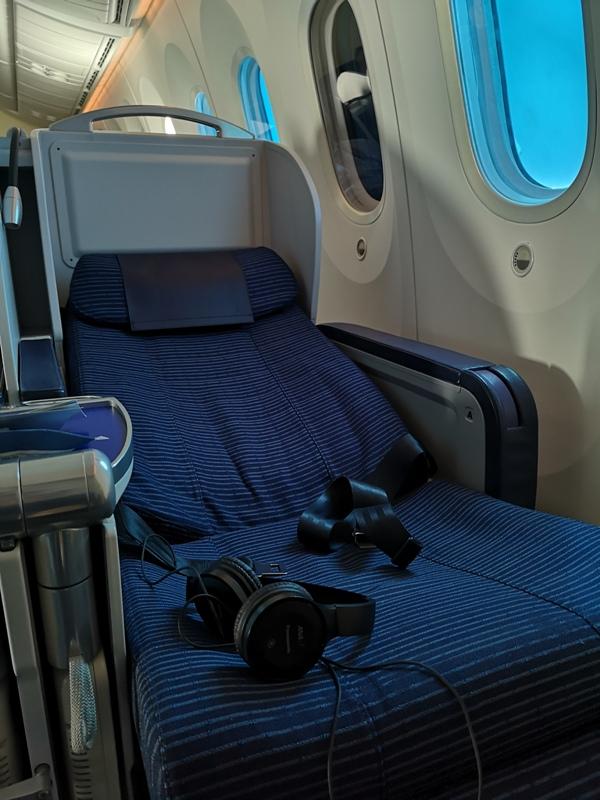 flyvie12 201909台北維也納 ANA787-9夢幻客機商務艙初體驗