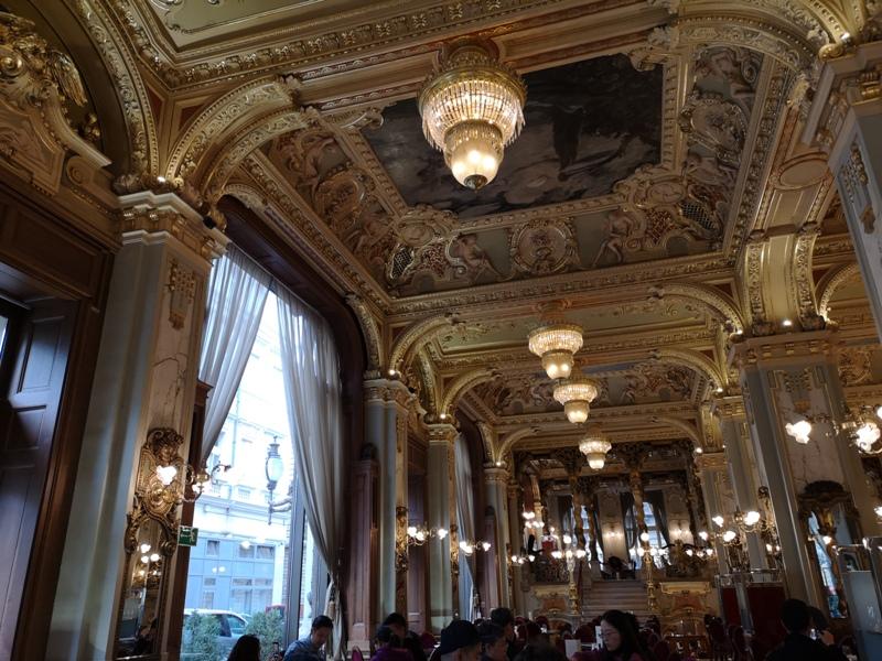 newyorkcafe07 Budapest-New York Cafe宮殿般奢華 世界最美咖啡館之布達佩斯紐約咖啡