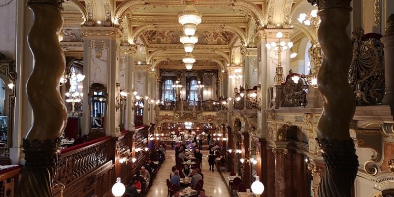 newyorkcafe13 Budapest-New York Cafe宮殿般奢華 世界最美咖啡館之布達佩斯紐約咖啡
