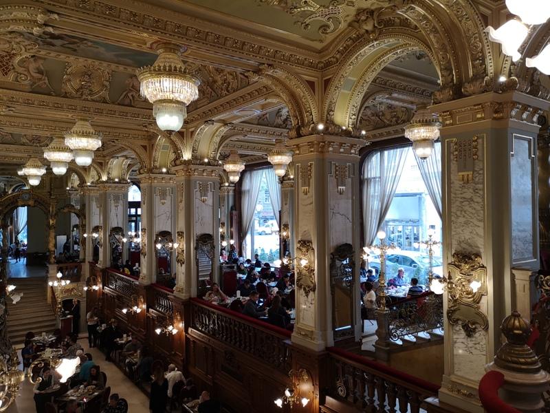 newyorkcafe18 Budapest-New York Cafe宮殿般奢華 世界最美咖啡館之布達佩斯紐約咖啡