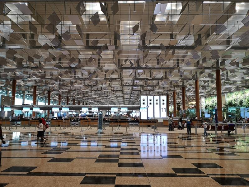 BR22521612 201911台北新加坡 二話不說衝星耀樟宜 絕對一等一的機場