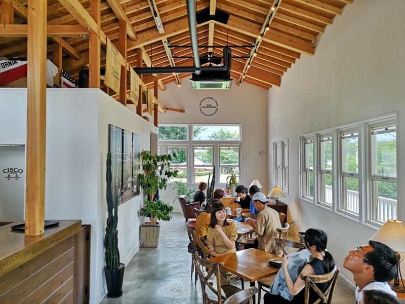 ciscocoffee0105 Kawaguchiko-Cisco Coffee浪漫白色小木屋 河口湖畔美式咖啡館 滿滿美加的味道