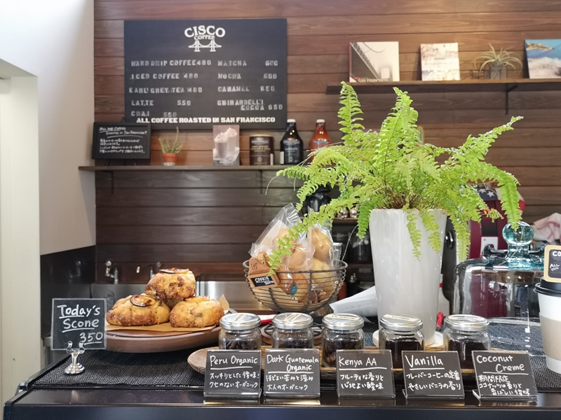 ciscocoffee0111 Kawaguchiko-Cisco Coffee浪漫白色小木屋 河口湖畔美式咖啡館 滿滿美加的味道