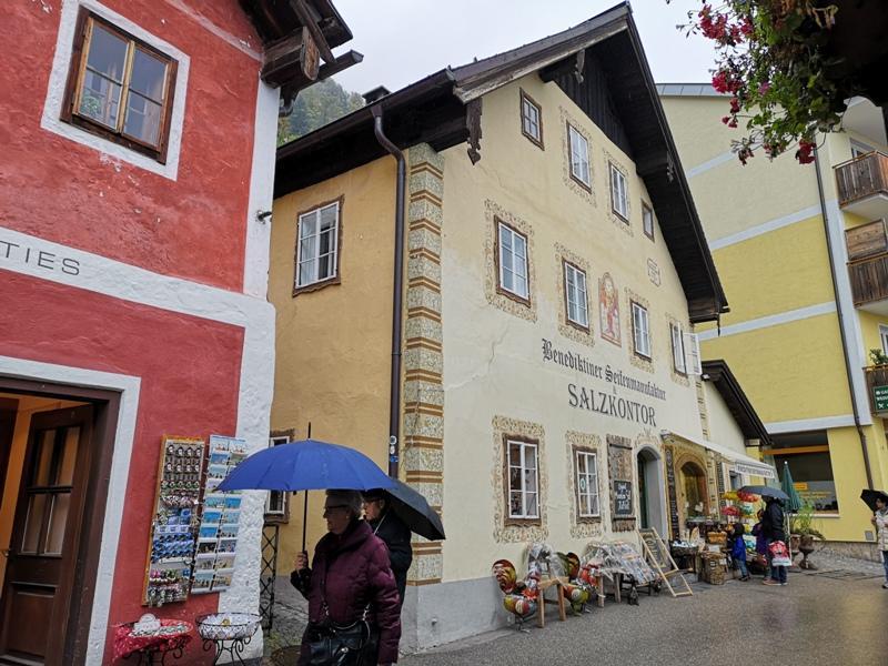 hallstatt0112 Hallstatt-世界最美小鎮 哈斯塔特 陰雨天的朦朧美感