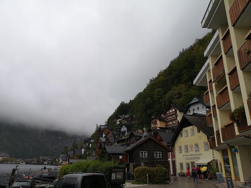 hallstatt0116 Hallstatt-世界最美小鎮 哈斯塔特 陰雨天的朦朧美感